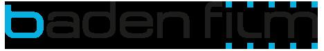 baden film logo, impressum,